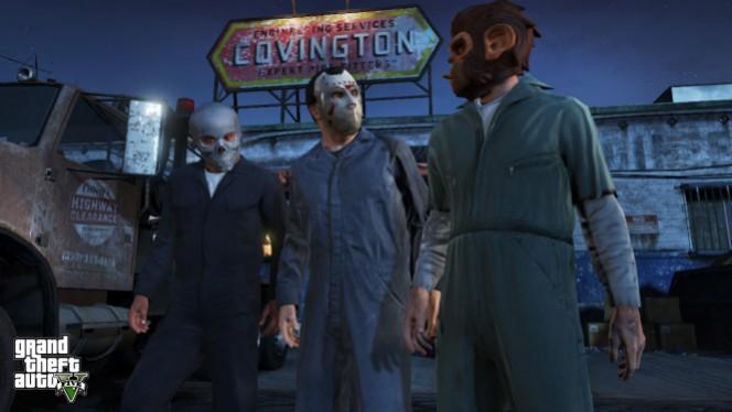 Pierwsza misja w GTA V na wideo