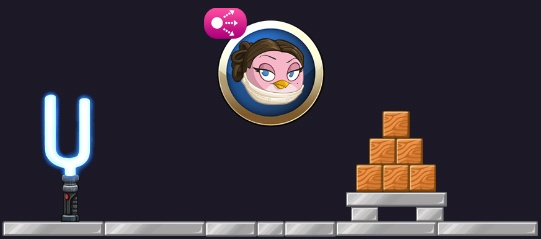 Padme Angry Birds Star Wars 2