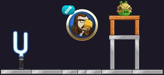 Qui-Gon Jinn Angry Birds Star Wars 2
