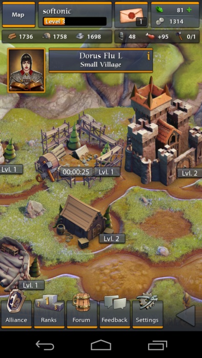 Throne Wars » Android Games 365 - Free Android Games Download