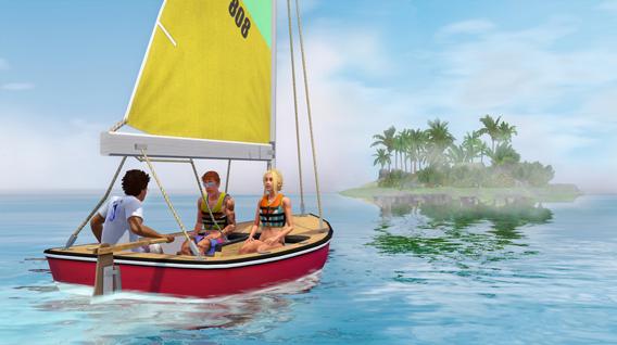 the sims 3 rajska wyspa