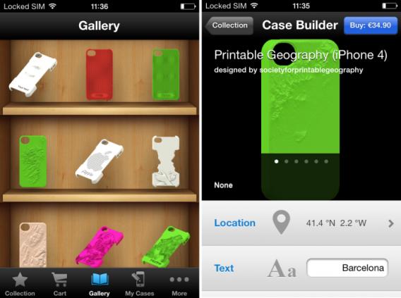 3DPCase - 3d printed iphone case