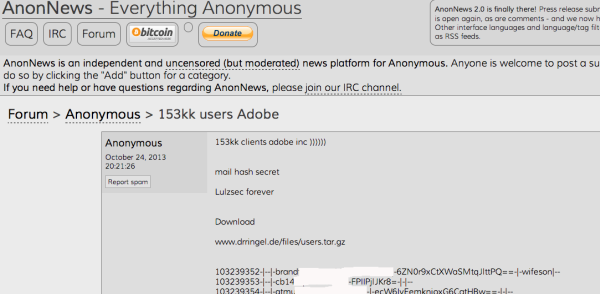Adobe AnonNews