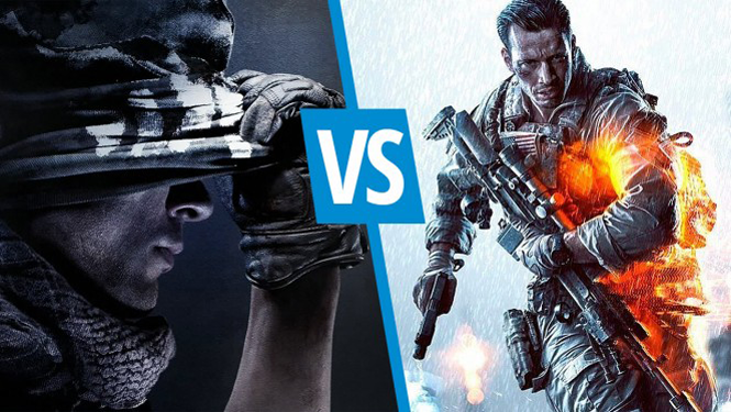 Call of Duty: Ghosts vs Battlefield 4