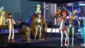 The Sims 4: podróż do przyszłości
