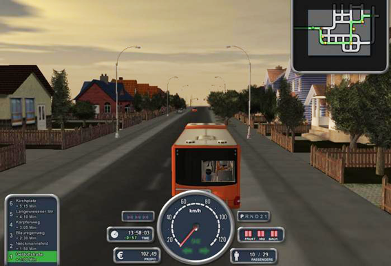 symulator autobusu 2008