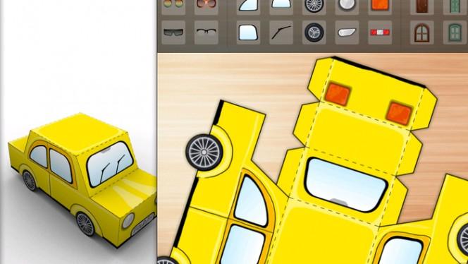 Papierowe figurki wprost z mobilnych aplikacji