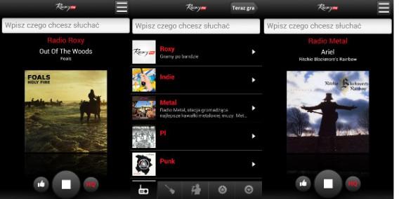 Radio Roxy na Android