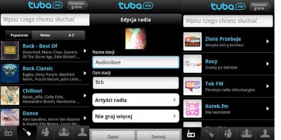 Tuba FM na Android