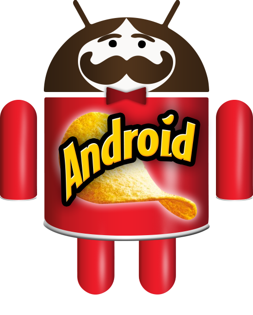 Android Pringles