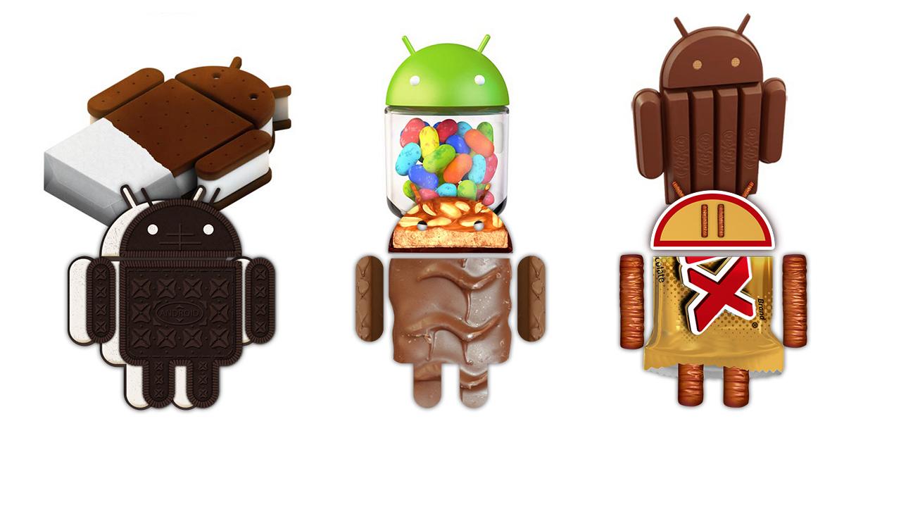 Android 5.0 Oreo, Snickers lub Twix? Jak będą się nazywać następne wersje Androida?
