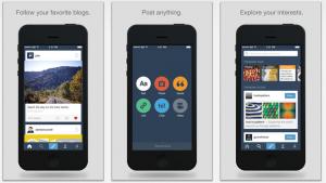 """Tumblr w końcu zyskał """"płaski"""" wygląd iOS 7"""