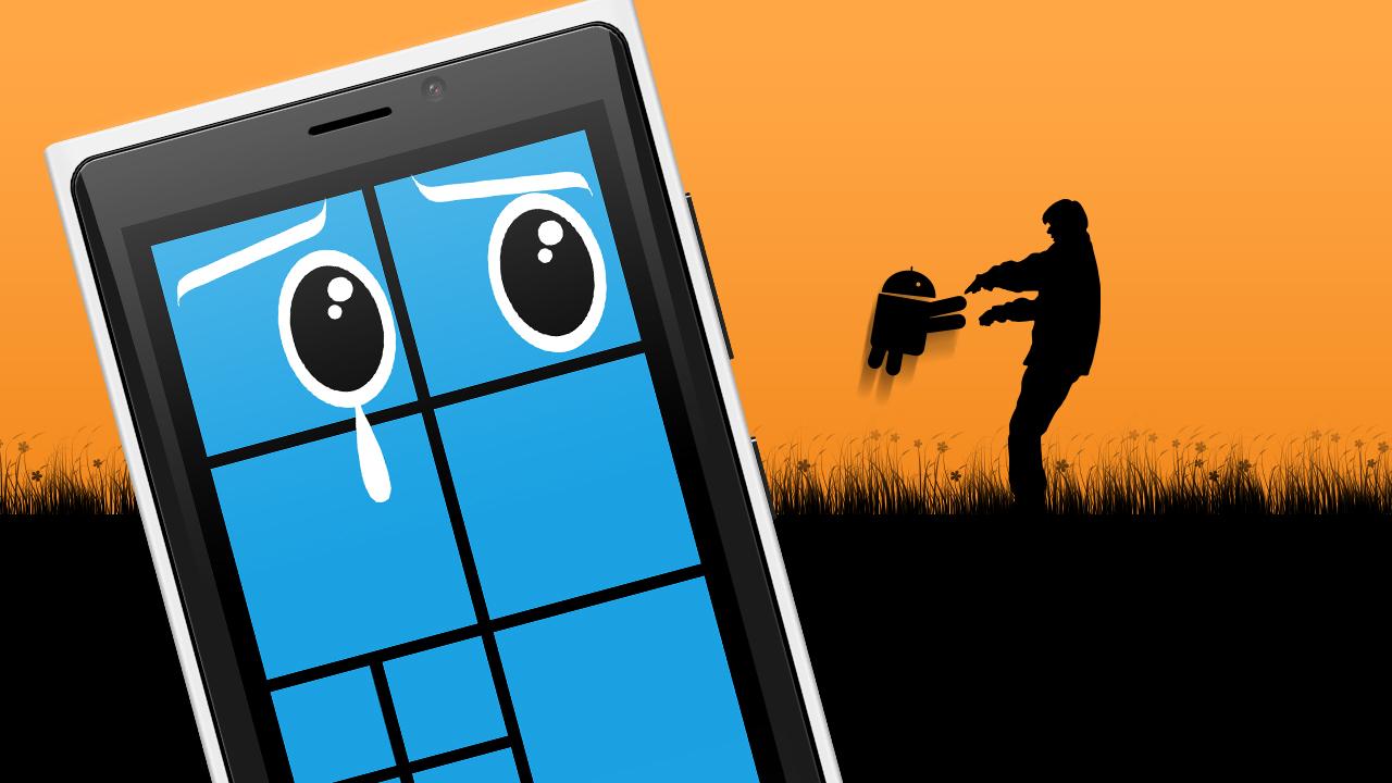 Czy warto przesiąść się z Androida na Windows Phone? Nie!