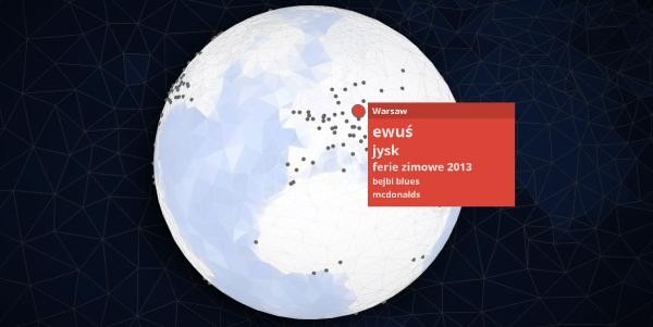 Warszawa Google Zeitgeist