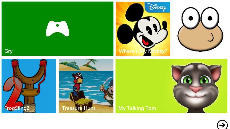 najlepsze gry dla dzieci na windows phone nokia-lumia
