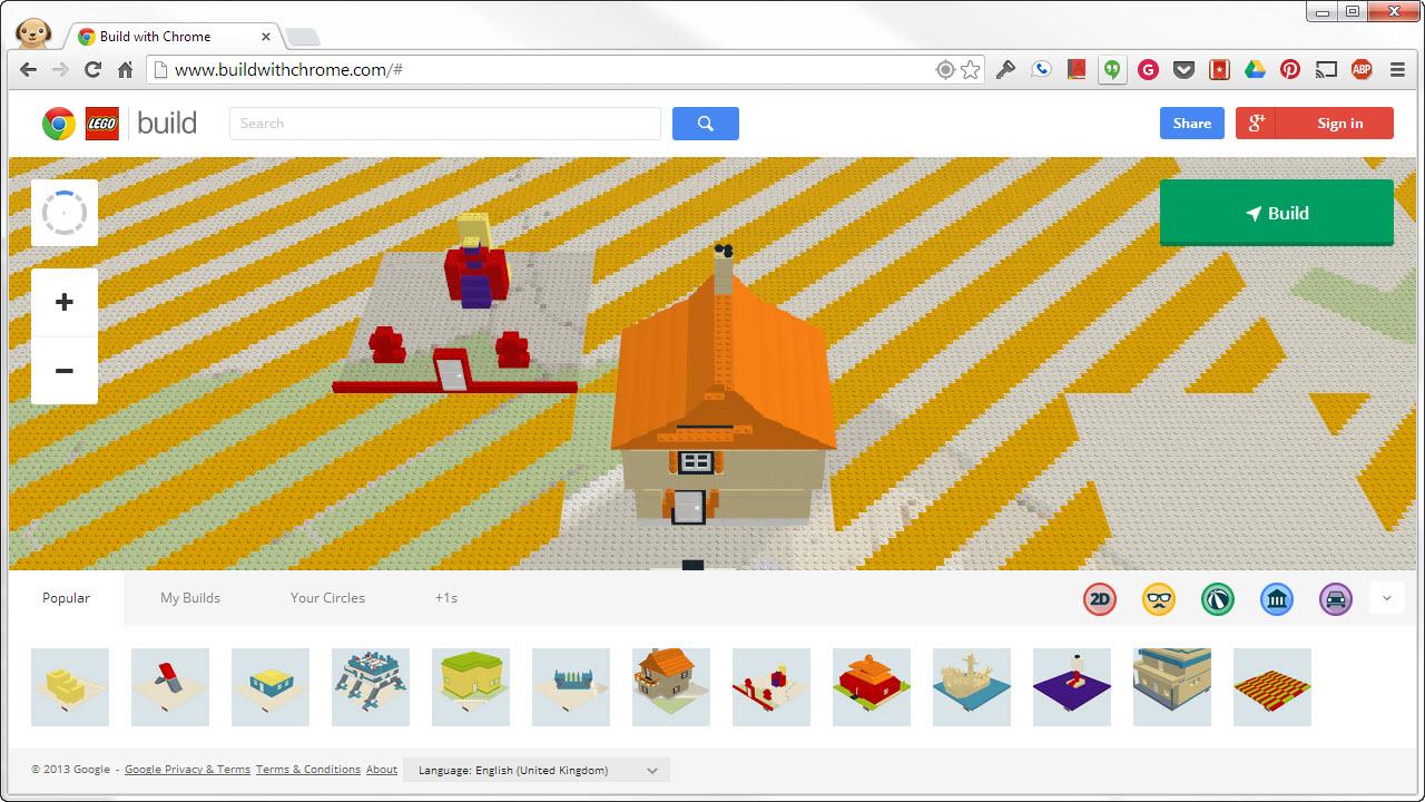 Klocki Lego w Twojej przeglądarce!