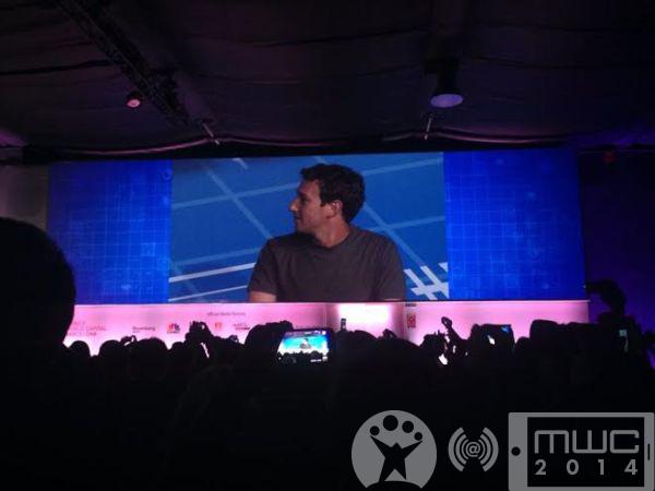 Mark Zuckerberg na MWC2014