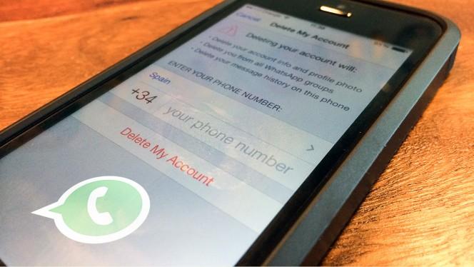 jak skasować konto na Whatsapp