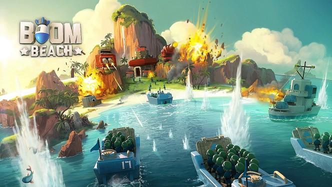 Pierwsze kroki w grze Boom Beach - porady i triki