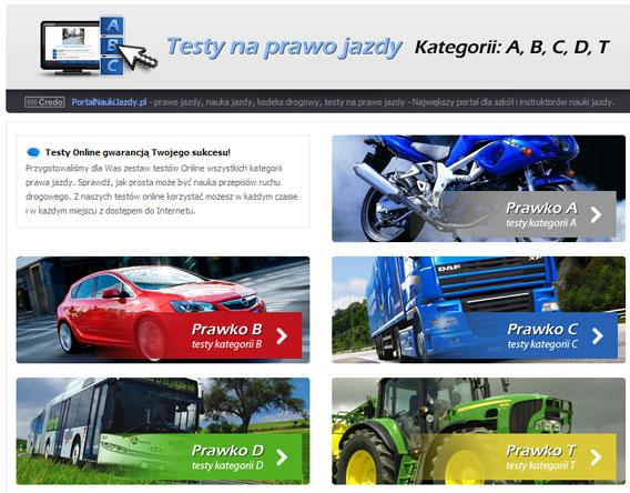 Testy prawo jazdy nowe download