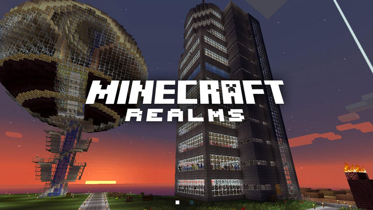 Minecraft Realms: pojawiły się nowe mapy i mini gry