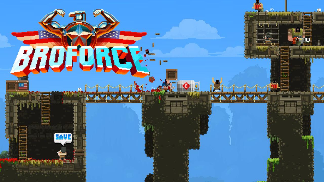 Broforce: gra akcji przynosząca lata 80-te na twój komputer