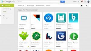 Aplikacje dla Android Wear już w sklepie Google Play