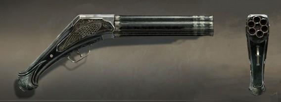 Assassins Creed 5 Unity pistolet