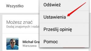 Jak wyłączyć przesyłanie zdjęć z Google+ w telefonach z Androidem?