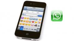 Emotikony w WhatsAppie dla iPhone'a z wykorzystaniem klawiatury Emoji