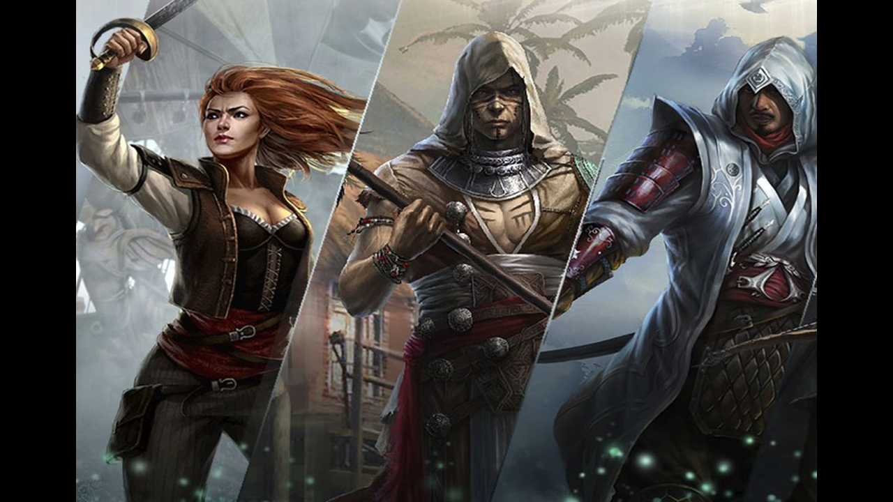Assassin's Creed Memories – nowe, karciane RPG na iOS-a