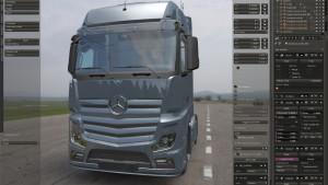 ETS 2: prace nad Mercedes-Benz New Actros wciąż trwają