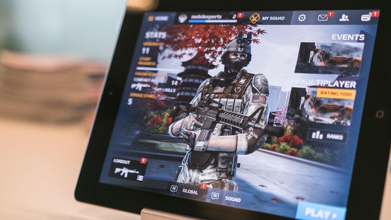 Aktualizacja dla Modern Combat 5: Blackout na iOS-a