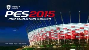Zrzuty ekranu z dema PES 2015, a na nich … Stadion Narodowy w Warszawie!