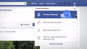 Facebook dodaje menu z kontrolą prywatności