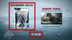 Assassin's Creed Rogue – filmowy zwiastun zdradza więcej niż powinien, ale to dobra wiadomość!