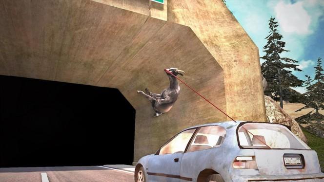 Goat Simulator na urządzenia mobilne: 6 najgłupszych kozich wybryków