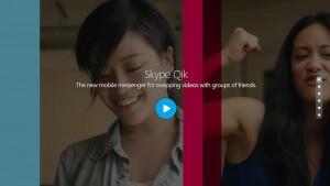 Skype Qik, czyli dziadek chce być młodzieżowy
