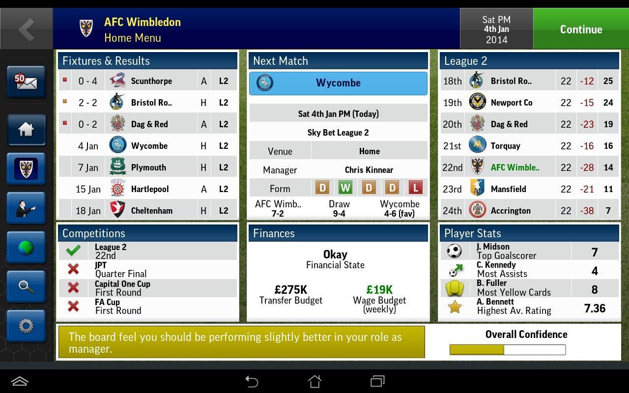 Football Manager Handheld 2015 juz dostępny w sklepie Google Play