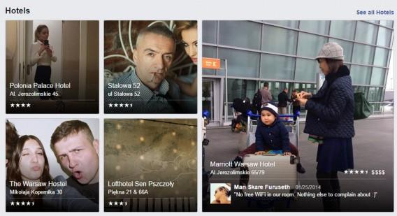 Prywatne zdjęcia ludzi w Facebook Places