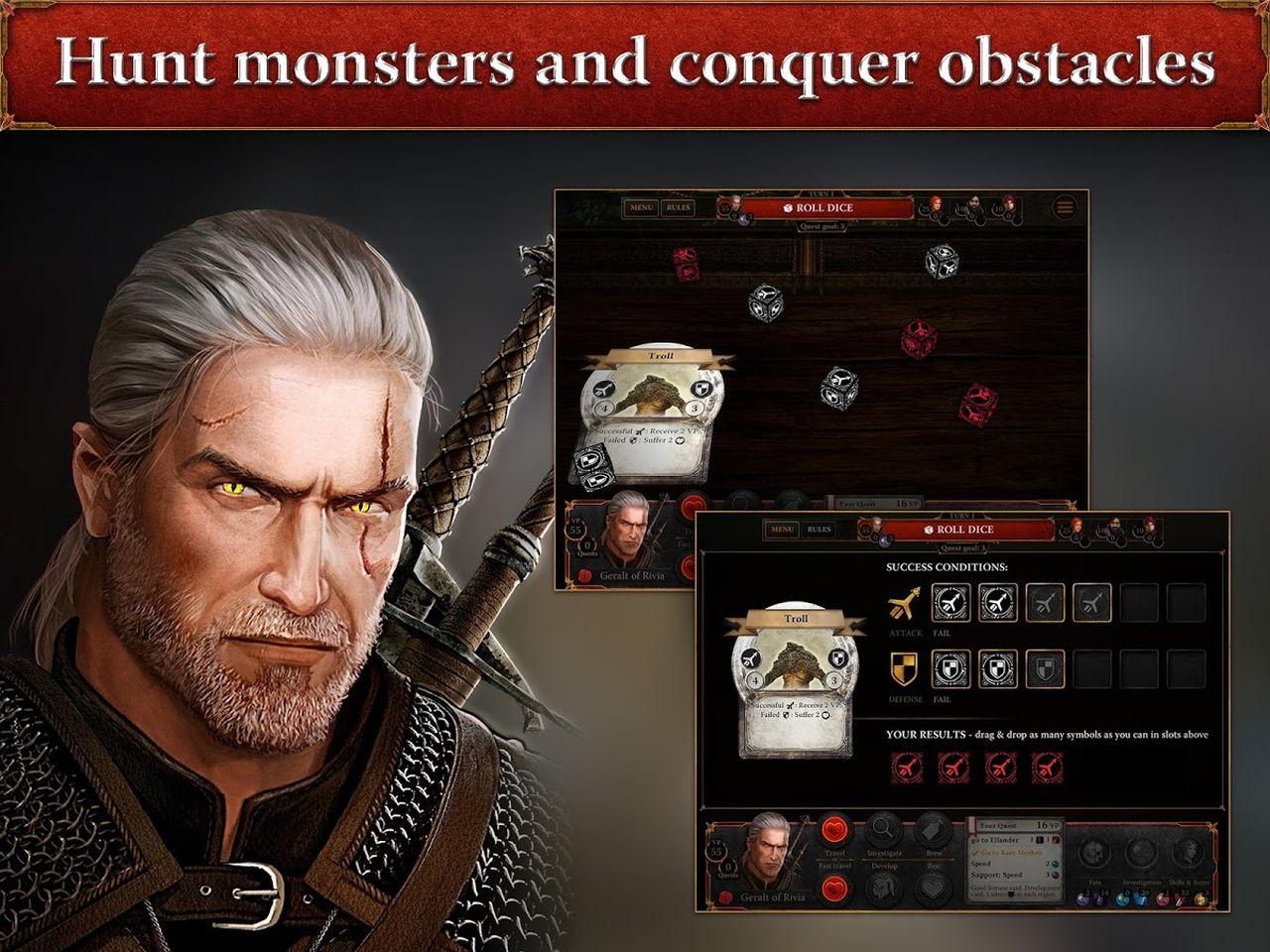 The Witcher Adventure Game już w sklepach z aplikacjami