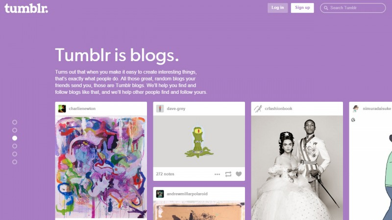 Tumblr jest najszybciej rozwijającą sie siecią społecznościową