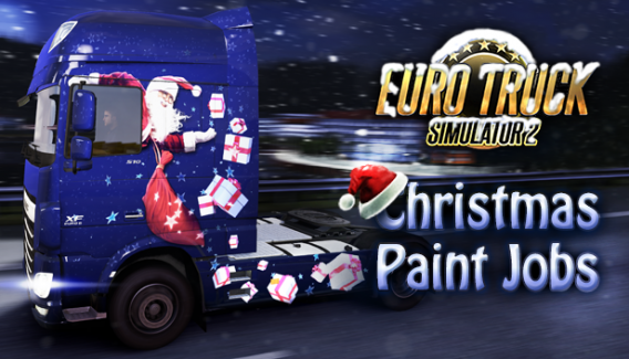 ETS 2 Christmas Paint Jobs