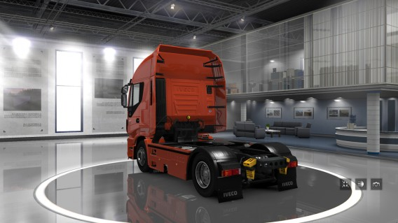 ETS 2 showroom