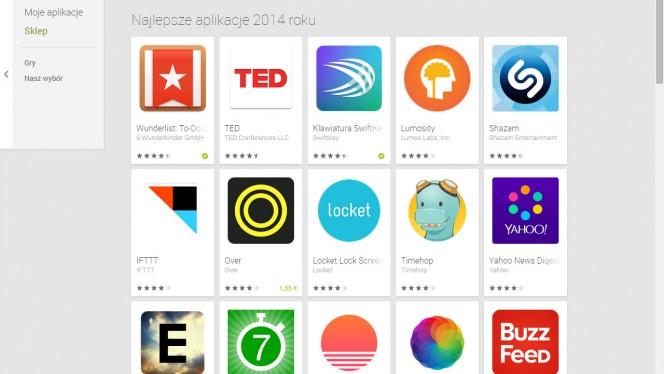 Najlepsze aplikacje na Androida
