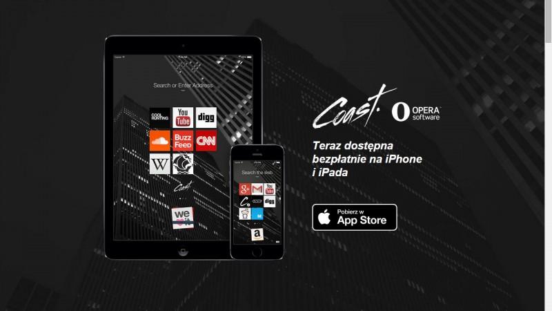 Nowa Opera Coast dla iOS-a