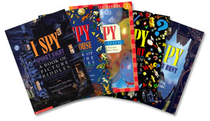 Colección de libros de I SPY