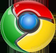 El icono de Google Chrome