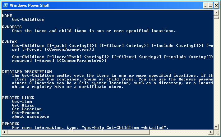 PowerShell en acción