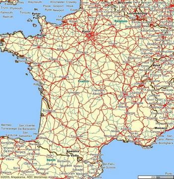 mapas de carreteras en internet